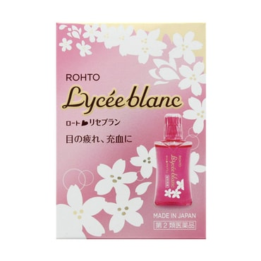 Rohto Lycee Blanc Sakura Eye Drop 12ml