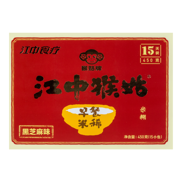 Product Detail - Jiangzhong Hougu Breakfast Rice Cereal (Black Sesame) 450g - image 0