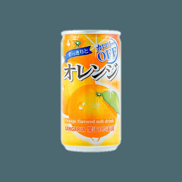 商品详情 - 日本SANGARIA 橙汁10% 橙子饮料 185g【冻后更佳】 - image  0