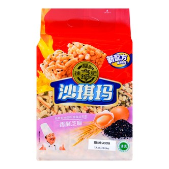 台湾徐福记 沙琪玛 清真 香酥芝麻味 家庭装 469g