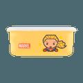 名创优品Miniso 漫威卡通系列 保鲜盒950ml, 惊奇队长