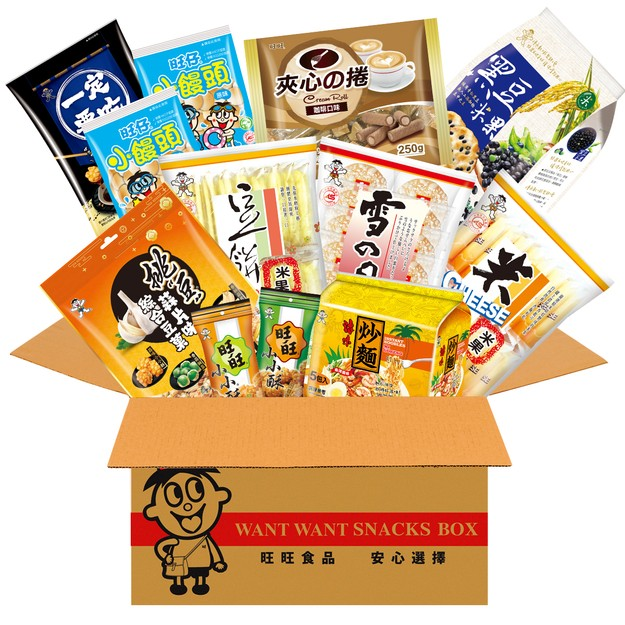Product Detail - WANT WANT Taiwan Party Snack Gift Box Noodle Rice Cracker - image 0