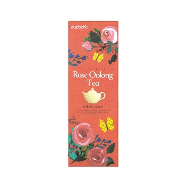 商品详情 - 台湾DAEBETE茶米茶 窨茶茶包系列 玫瑰高山乌龙茶 10包入 70g - image  0