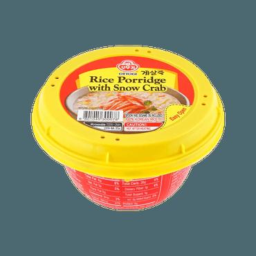 韩国OTTOGI不倒翁 营养美味粥 海鲜雪蟹味 2分钟即食 1人份 285g