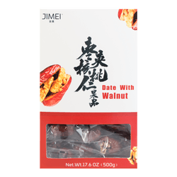 JIMEI Five Star Date With Walnut 500g