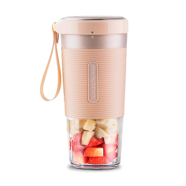 Product Detail - MORPHY RICHARDS Portable Rechargeable Juicer Easy Blender 300ml #Pink - image 0