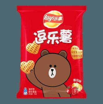 百事LAY'S乐事 逗乐薯 番茄味 70g