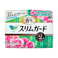 KAO LAURIER Slim Guard Rose Heavy Flow Sanitary Pads with Wings 20.5cm 26 Pads