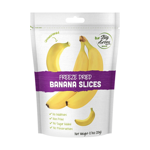 Product Detail - Freeze Dried Banana Slices 20g - image  0