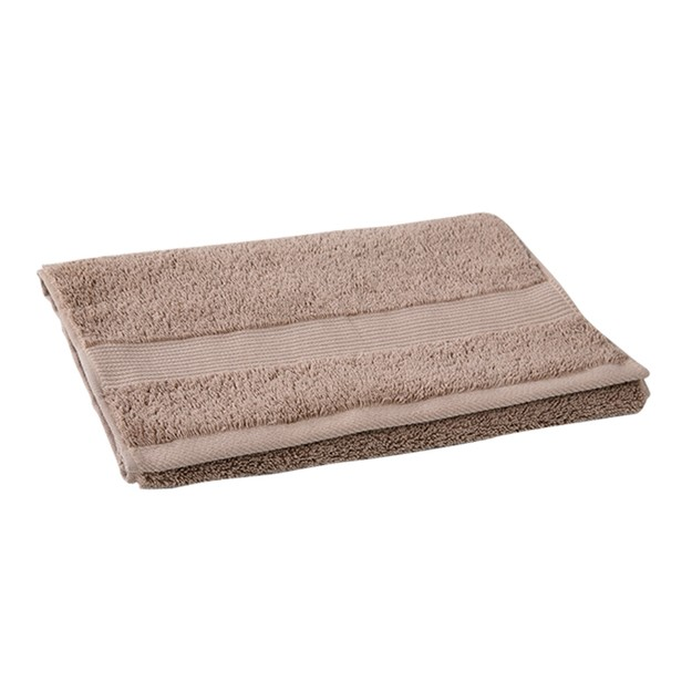 商品详情 - 苏宁极物 埃及进口长绒棉毛巾 咖啡色 - image  0