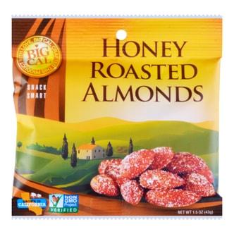 BIGCAL Honey Roasted Almonds 43g