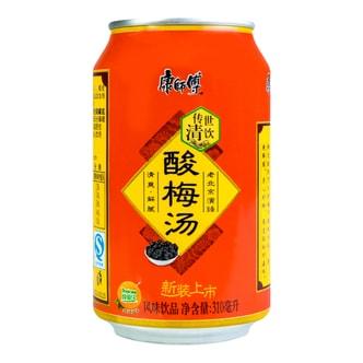 康师傅 传世清饮 酸梅汤 罐装 310ml