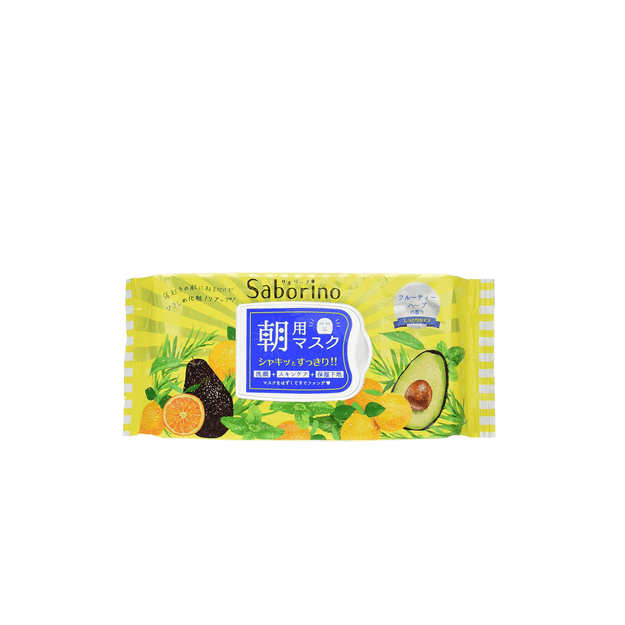 Product Detail - BCL SABORINO 60 second lazy good morning facial mask 32 pieces in - image 0