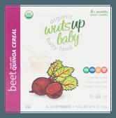 美国WUTSUPBABY 有机藜麦粉 甜菜口味 113g 婴儿宝宝辅食营养食品 USDA认证