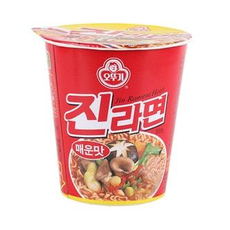 韩国OTTOGI不倒翁 金拉面方便面 辣味 杯面 65g