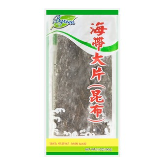 BGREEN Dried Seaweed (Dashi Konbu) 100g