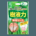日本KOKUBO小久保 天然树液足贴  2枚入