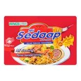 印尼MI SEDAAP喜达 辣味干捞面 五连包 440g
