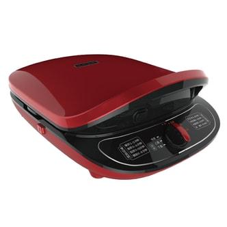 JOYOUNG九阳 双面悬浮加热电饼铛煎烤机 红色 8种预设功能 CTS-30JK2