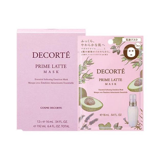 Product Detail - COSME DECORTE Prime Latte Mask 16ml JAPAN 12 pcs - image  0