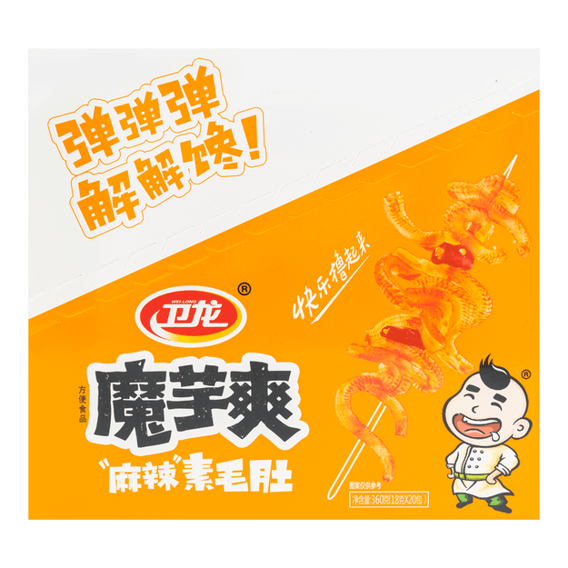 Product Detail - WEILONG Hot Konjac Hot Flavor 20Pcs 360g - image 0