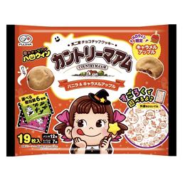 DHL直发【日本直邮】日本FUJIYA不二家 万圣节限定 两种口味曲奇饼干 19枚