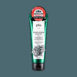 韩国PLU 身体磨砂膏 浆果混合味道 200g