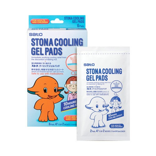 Yamibuy.com:Customer reviews:SATO Stona Coolnig Gel Pads 6Pads