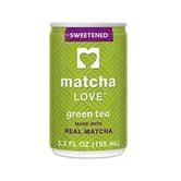 MATCHA LOVE Sweetened Green Tea 155ml
