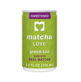 MATCHA LOVE Sweetened Green Tea 155ml