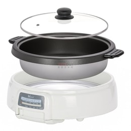 Narita Multipurpose Electric Hot Pot Shabu Cooker 3.5L NEC-4000 (1 Year Mfg Warranty)