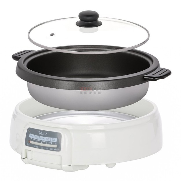 Product Detail - Narita Multipurpose Electric Hot Pot Shabu Cooker 3.5L NEC-4000 (1 Year Mfg Warranty) - image 0
