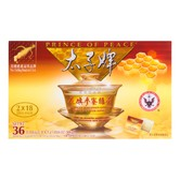 美国太子牌 花旗参蜜糖茶包 100%威州花旗参认证 8.5g*36包 306g