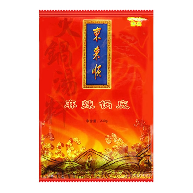 DONGLAISHUN Hot Pot Spicy Soup Sauce 230g