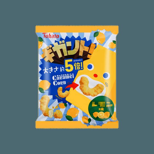 商品详情 - 日本TOHATO桃哈多 焦糖玉米泡芙 柠檬口味 88g - image  0
