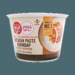 CJ Cooked White Rice with Soybean Paste Bibimbap 280g