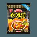 日本NISSIN日清 湖池屋 合味道 黑胡椒蟹味薯片 50g