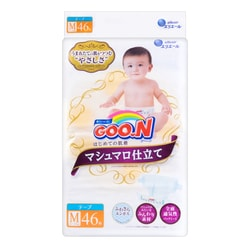 GOO.N Premium Soft Baby Diaper Medium Size 46 Sheets