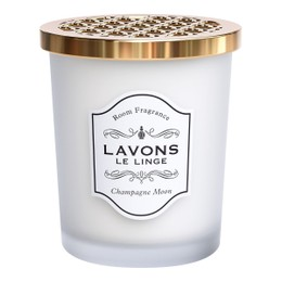 LAVONS LE LINGE Premium Room Aroma Fragrance Gel Deodorizer Champagne Moon 150g