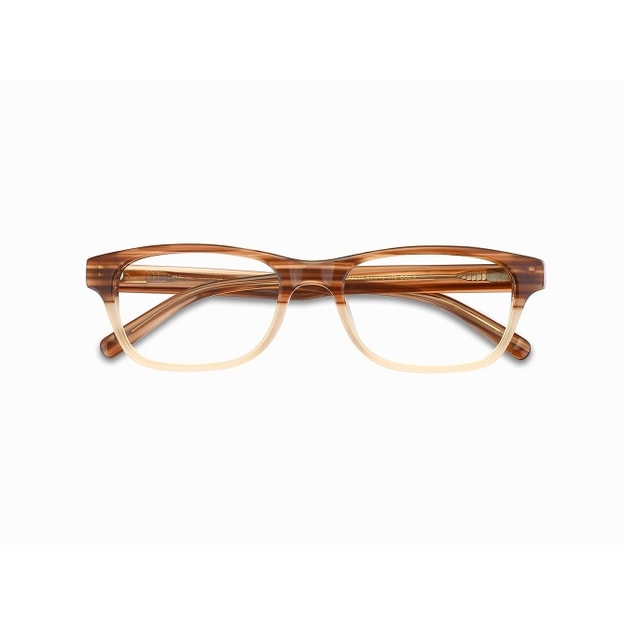 Product Detail - DUALENS Blue Light Blocking Eyeglasses - Nano - Coffee (DL45016 C3) - image 0