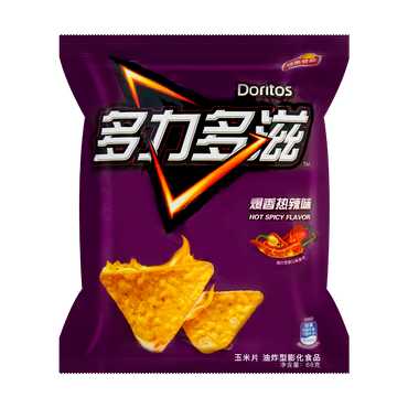 DORITOS Hot & Spicy Flavor 68g