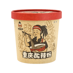 MANTONGXIANG CHONGQING SOUR & SPICY GLASS NOODLE   185g