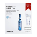 WONJIN EFFECT - Medi Hydro Vial Concentrated Ampoule Mask 30g 10pcs (Some come with Medi Hydro Vial Cleansing Foam 80ml)