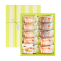 日本NAKAYAMA中山制果 水果奶油饼干 礼盒装 10枚入 486g