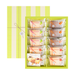 NAKAYAMA Fruit Cream Sandwich Cookie 10pcs