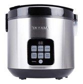 TAYAMA Digital Rice Cooker & Food Steamer 5QT TRC-50H1