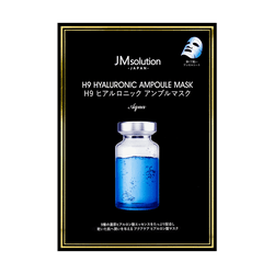 JM SOLUTION H9 Hyaluronic Ampoule Mask Aqua 5 Sheets