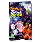 KRACIE Separate Fruit Gummy Grape Taste 25g