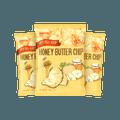 【超值3袋】韩国HAITAI海太 蜂蜜黄油薯片 60g*3包【Best Before 2021/08/25】