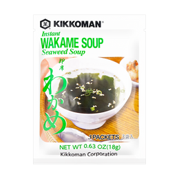 Instant Wakame Seaweed Soup 18g